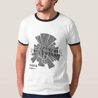 Bangkok Map Ringer T-Shirt
