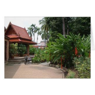 Bangkok Park Greeting Card