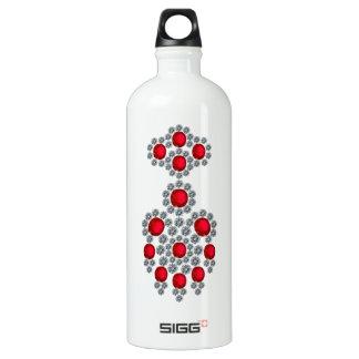 Bangkok Rubies Aluminum Water Bottle