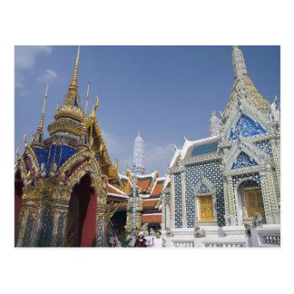 Bangkok, Tailandia. El palacio magnífico de Bangko Postal