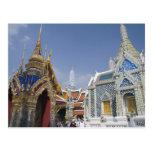 Bangkok, Tailandia. El palacio magnífico de Postal