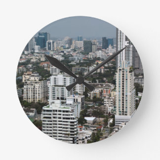 Bangkok Tailandia Reloj Redondo Mediano