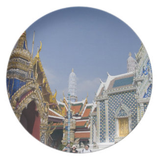 Bangkok, Thailand. Bangkok's Grand Palace Dinner Plates