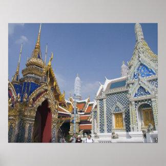 Bangkok, Thailand. Bangkok's Grand Palace Poster