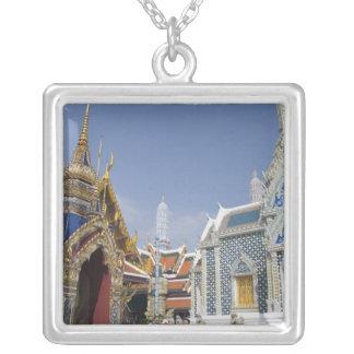 Bangkok, Thailand. Bangkok's Grand Palace Silver Plated Necklace