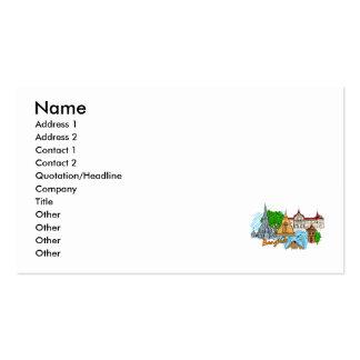 Bangkok - Thailand Business Card