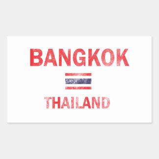 Bangkok Thailand designs Rectangular Sticker