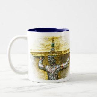 Bangkok Thailand Two-Tone Coffee Mug