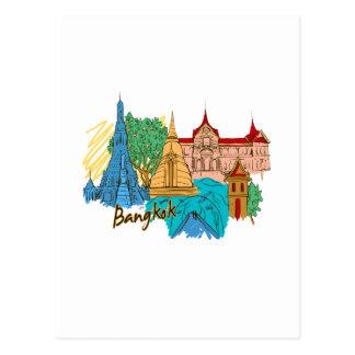 bangkok travel city graphic.png postcard
