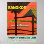 Bangkok Vintage  Vintage Print Posters