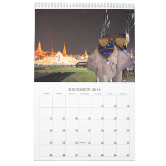 Bangkok: West meets East Calendar