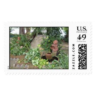 Bangkok Wishing Well Postage Stamps
