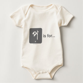 Bangla Letter P is for..by Lovedesh.com Baby Bodysuit