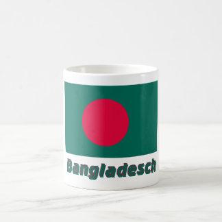 Bangladesch Flagge mit Namen Classic White Coffee Mug