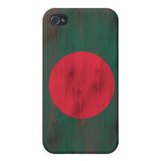 Bangladesh apenó la bandera de Bangladesh iPhone 4/4S Carcasa
