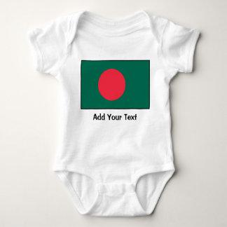 Bangladesh – Bangladeshi Flag Baby Bodysuit