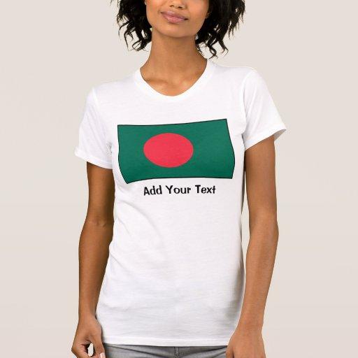Bangladesh – Bangladeshi Flag Tee Shirt