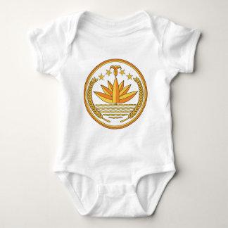 Bangladesh Coat Of Arms Baby Bodysuit