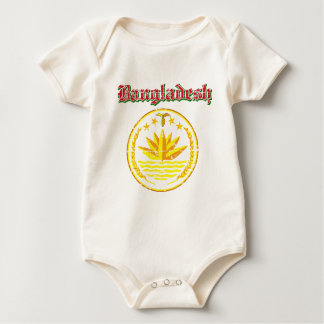 Bangladesh coat of arms designs baby bodysuit