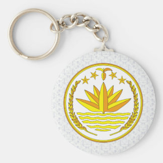 Bangladesh Coat of Arms detail Key Chains