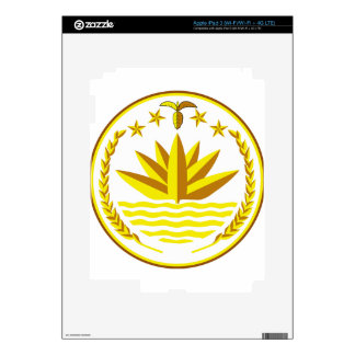 Bangladesh Coat of Arms Skin For iPad 3