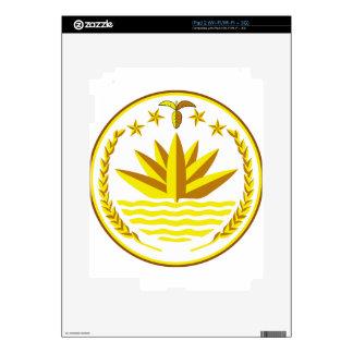Bangladesh Coat of Arms iPad 2 Decals