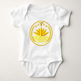 bangladesh emblem baby bodysuit