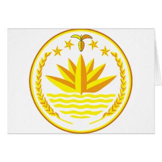 bangladesh emblem card