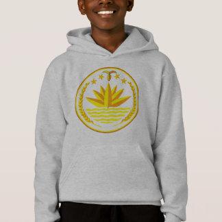 bangladesh emblem hoodie