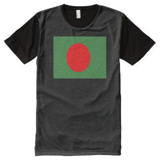 Bangladesh Flag All-Over-Print T-Shirt