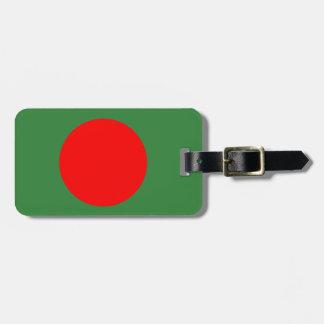 Bangladesh Flag Bag Tag
