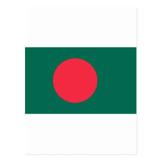 Bangladesh Flag BD Postcard