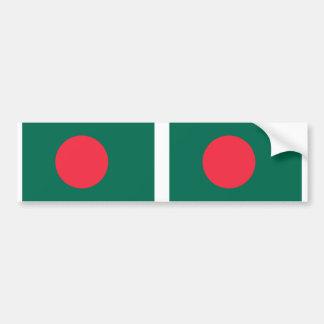 Bangladesh flag bumper sticker
