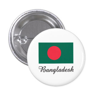 Bangladesh Flag Design Pinback Button