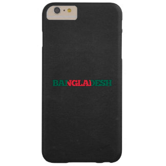 Bangladesh flag font barely there iPhone 6 plus case