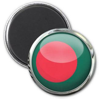 Bangladesh Flag Glass Ball Magnet