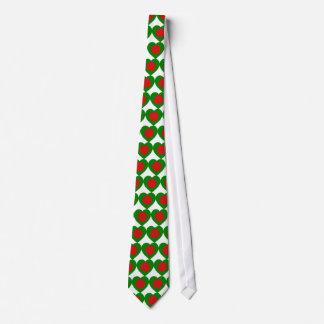 Bangladesh Flag Heart Tie