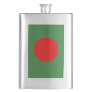 Bangladesh Flag Hip Flask