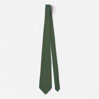 Bangladesh Flag Honeycomb Tie