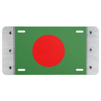 Bangladesh Flag License Plate