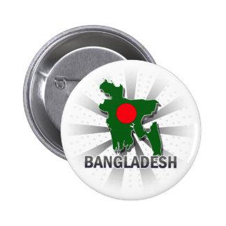 Bangladesh Flag Map 2.0 Button