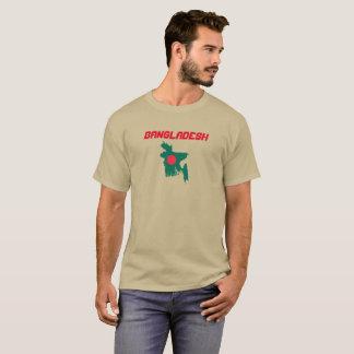 Bangladesh Flag Map Custom Shirt