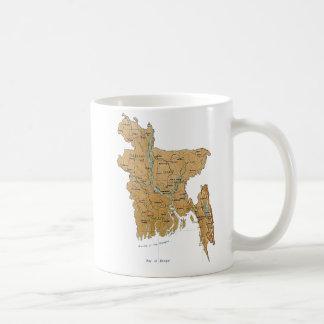 Bangladesh Flag ~ Map Mug