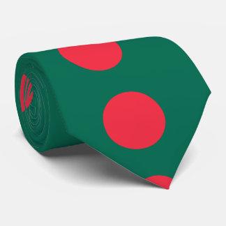 Bangladesh flag neck tie