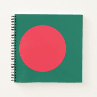 Bangladesh Flag Notebook