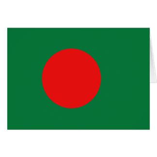 Bangladesh Flag Notecard