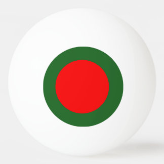 Bangladesh Flag Ping Pong Ball