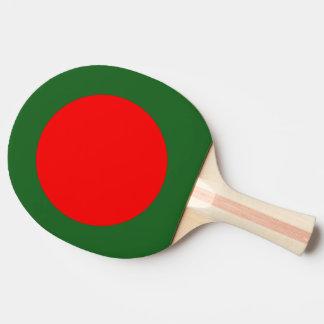 Bangladesh Flag Ping-Pong Paddle