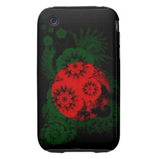 Bangladesh Flag Tough iPhone 3 Covers