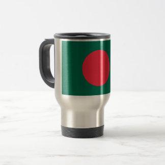 Bangladesh Flag Travel Mug